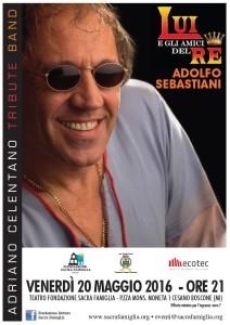 Read more about the article Invito al concerto della Tribute Band  di Adriano Celentano