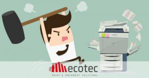 Read more about the article Hai bisogno della riparazione della tua stampante perchè continua ad incepparsi?